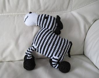Mr zebra striped black and white