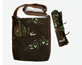 Pronto Pittografo, bag with brush holder for artists