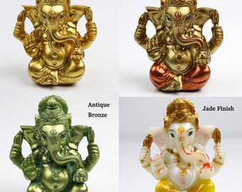 Hindu God Statue Ganesh Figurine India Buddha Ganesha Diwali Gifts Puja product Indian Birthday Gifts Wedding Gifts