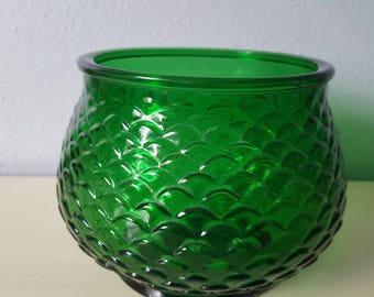 Vintage E.O Brody Green vase.