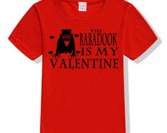 Babadook Valentine's Day True Love T Shirt Clothes Many Sizes Colors Custom Horror Halloween Merch Massacre