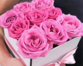Beautiful everlasting roses medium