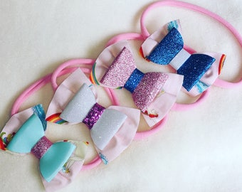 Custom Unicorn Rainbow Headband