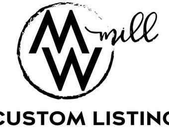 Custom Listing for Christy Cline