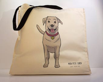 Labrador shopping bag - Tote bag for Dog lovers
