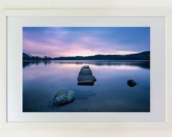 Fine art photography, sea, sunset, Scotland, Highlands, premium quality,