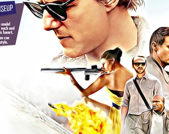 Mission impossible poster, fan art, rogue nation poster, mission impossible, digital style, rogue nation, cool GIFTS, great posters