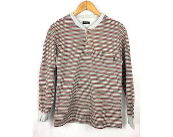 ELLE HOMME Long Sleeve Sweatshirt Small Size