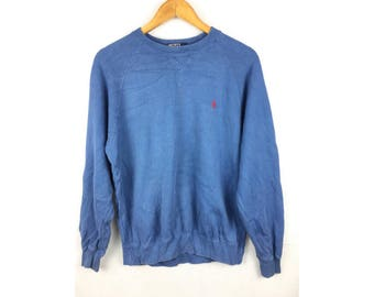POLO By Ralph Lauren Size 170 or Medium Size Long Sleeve Sweatshirt Pull Over