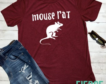 Mouse Rat Unisex Shirt, Leslie Knope, Ron Swanson, Friends Shirt, Funny Tee
