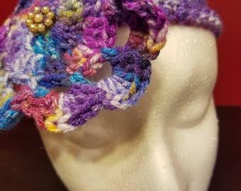 Flower Headband | Child Headband | Repurposed earrings