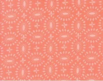 Bloomsbury coral Fabric by the yard