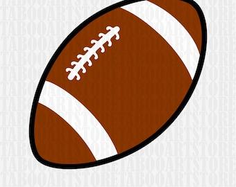 Football Svg, Football   Ball, Football   Svg Files, Silhouette Cut Files, Cricut Cut Files SVG,  Sports Svg, Football  clipart