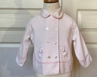 Vintage Baby Double Breasted Jacket