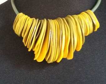 """The """"Autumn Leaves"""" necklace"""