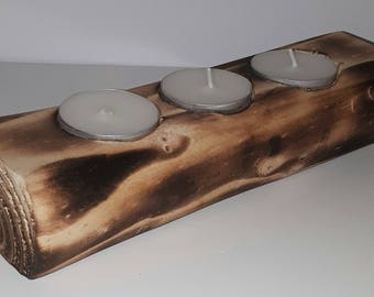 wooden tealight holder, candle holders, wooden wedding gift ideas, table centrepiece, tealight gift, gift for her, wooden gift,