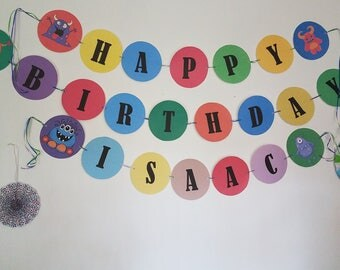 Customized Birthday Banner