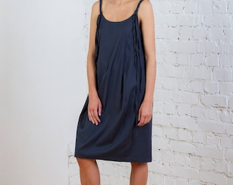 Spaghetti Strap Cocoon Dress