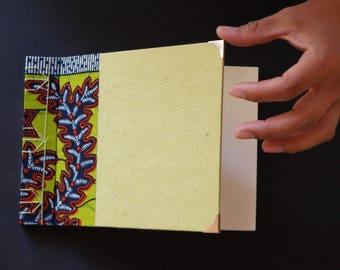 Horizontal blank book of Japanese binding