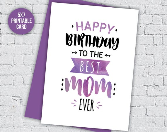 birthday card mum birthday card mom birthday card mothers