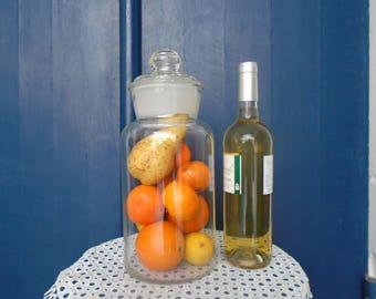 Jar of preservation of the 70's - jar glass