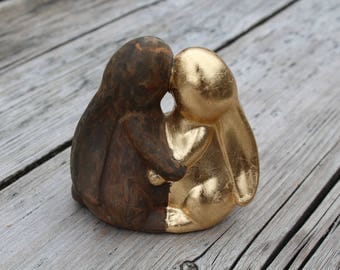 No matter, Kiss skin color Easter bunnies