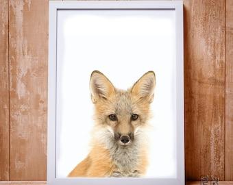 Fox Wall Art fox art | etsy