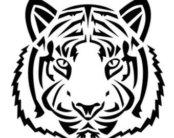 Tiger vinyl decal sticker