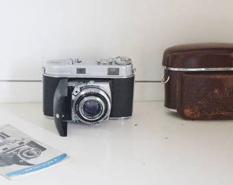 Vintage camera, film camera, retro camera, Kodak Retina II camera, Kodak camera, Retro Kodak, vintage film camera,