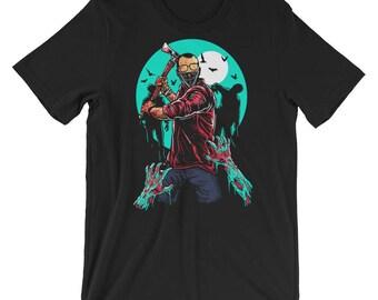 Zombie Slayer Short-Sleeve Unisex T-Shirt