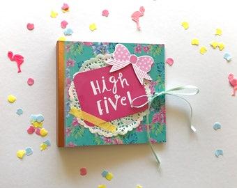 Pre-made snailmail flipbook / weheartconfetti