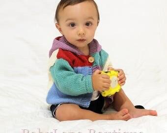 Baby Cardigan with hood