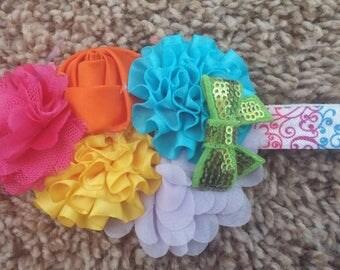 Bright summer headband