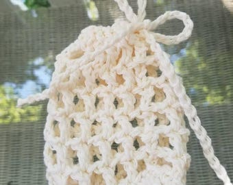 Crochet Cotton Soap Saver