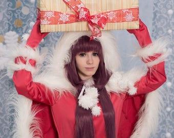Cosplay Clamp Hanato Kobato Santa dress costume