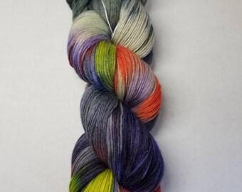 Hand dyed yarn MCN Fine Merino Wool,  Cashmere, Nylon