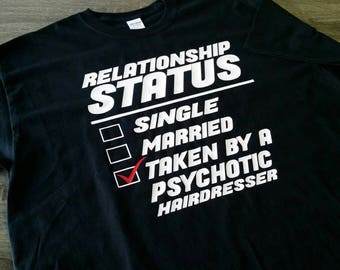 Graphic Tee-Funny-Relationship Status