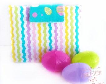 Crayon Holder Medium- Easter Stripes- Toddler Coloring, Kids Art Supplies, Crayon Holder, Crayon Notebook, Easter Basket