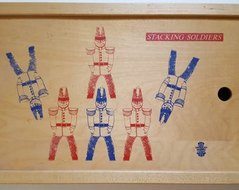 Vintage 1970s Stacking Soldiers by Great American Trading Company