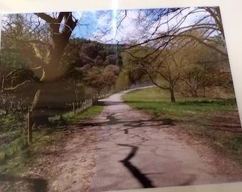 Fernilee reservoir,Goyt valley, print, mounted