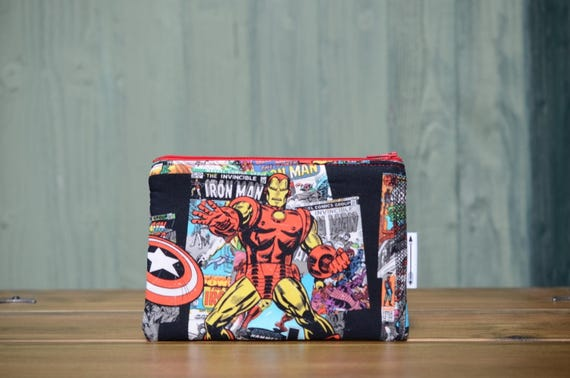 Iron Man zipped pouch
