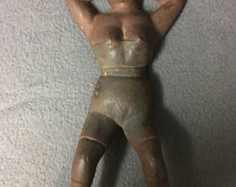 Naughty Nellie Cast Iron Risque Vintage Naughty Nellie Boot Jack Doorstop
