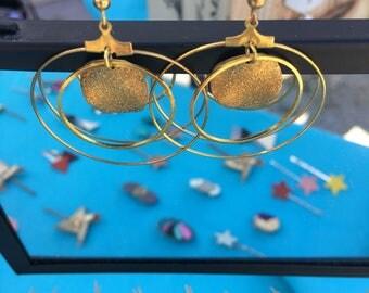 These Earrings by Golden lesbijouxdelilie