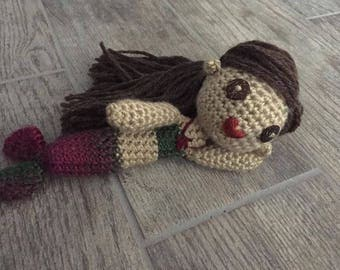 Amigurumi Style Crotchet Mermaid Doll