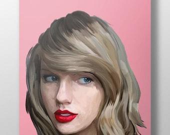 TAYLOR SWIFT art poster, modern art, hip hop art, rapper art, pop art, singer art, square poster, wall art, pop art, trendy art