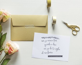 Invitation kit for Bridesmaid 6pcs.
