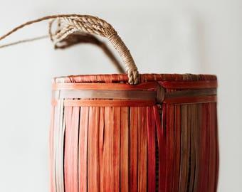 Vintage Small Hanging Basket