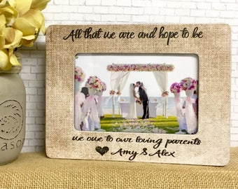 Army parents gifts wedding