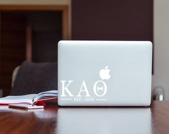 Kappa Alpha Theta Sorority Macbook Sticker