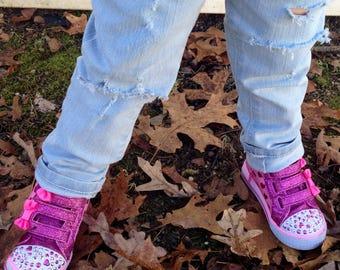 Distressed Denim Jeans Baby / Toddler / Kids